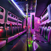 16 Seater Limo Party Bus