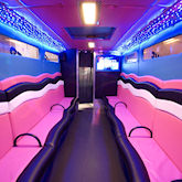 22 Seater Pink Panther Boogie Bus