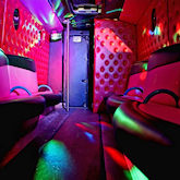 22 Seater Yellow Party Bus