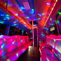 18 Seater VIP Limo Party Coach interior 1