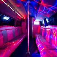 18 Seater VIP Limo Party Coach interior 2
