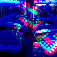 22 Seater VIP Party Bus interior 2