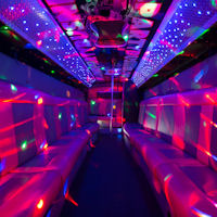 27 Seater City Party Coach interior 1