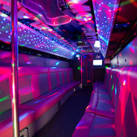 27 Seater City Party Coach interior 2