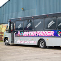 27 Seater VIP Entertainer Party Coach exterior 2