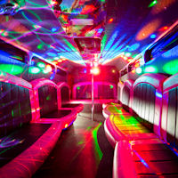 27 Seater VIP Entertainer Party Coach interior 1
