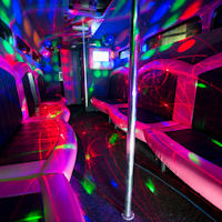 27 Seater VIP Entertainer Party Coach interior 2