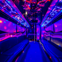 28 Seater VIP Entertainer Boogie Party Coach interior 1