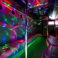 29 Seater Pink Panther Party Coach interior 2