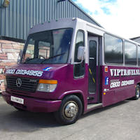 29 Seater VIP Party Coach exterior 2