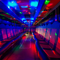 39 Seater VIP Entertainer Party Coach interior 1