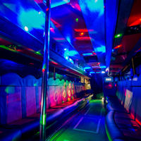39 Seater VIP Entertainer Party Coach interior 2