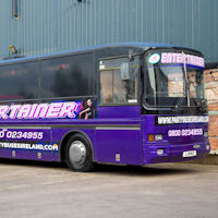 40 Seater VIP Entertainer Party Coach exterior 1