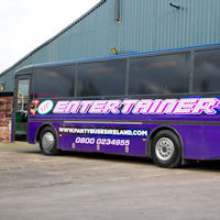 40 Seater VIP Entertainer Party Coach exterior 2