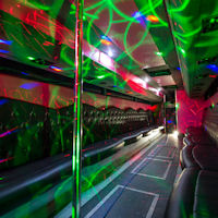40 Seater VIP Entertainer Party Coach interior 1