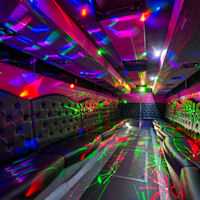 40 Seater VIP Entertainer Party Coach interior 2