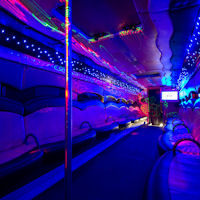 44 Seater VIP Entertainer Party Coach interior 1