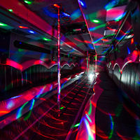 49 Seater VIP Entertainer - Ireland's Largest Party Bus interior 2