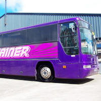 59 Seater VIP Entertainer exterior 1